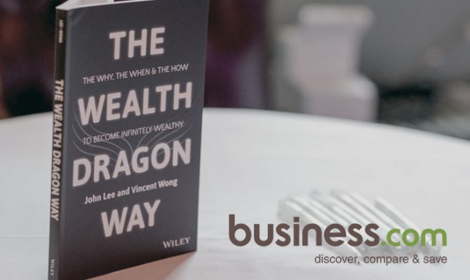 BusinessCom picks up on The Wealth Dragon Way launch press release