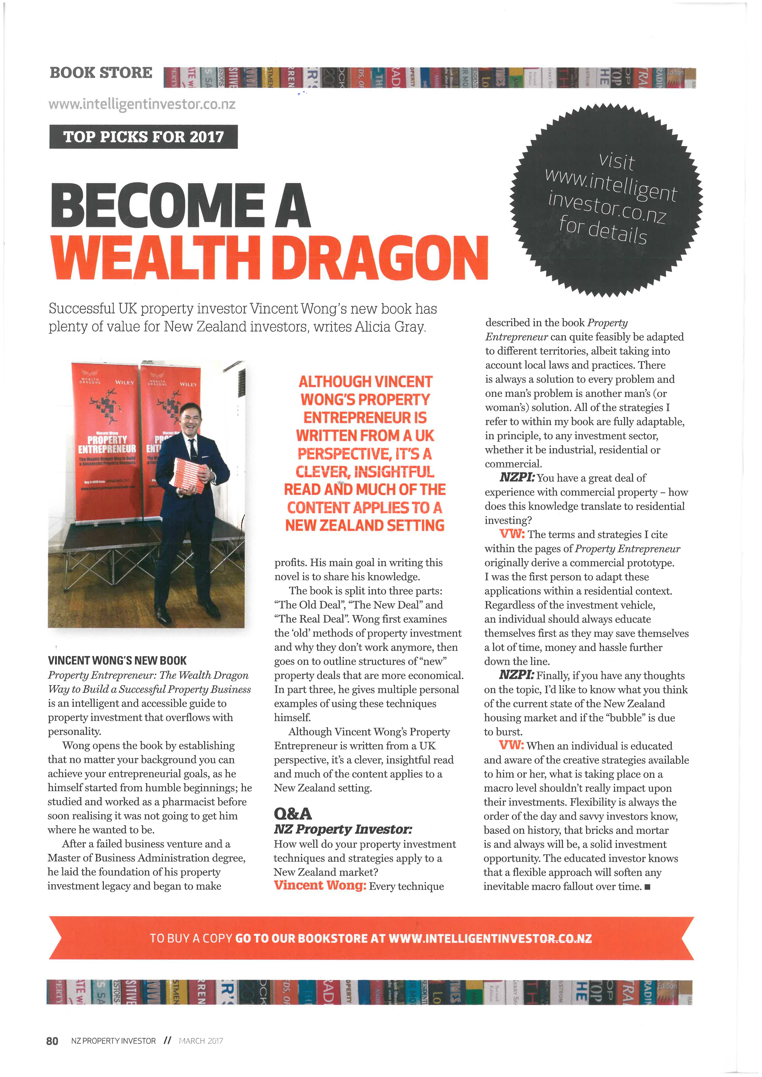 Intelligent Investors New Zealand - Become a Wealth Dragon